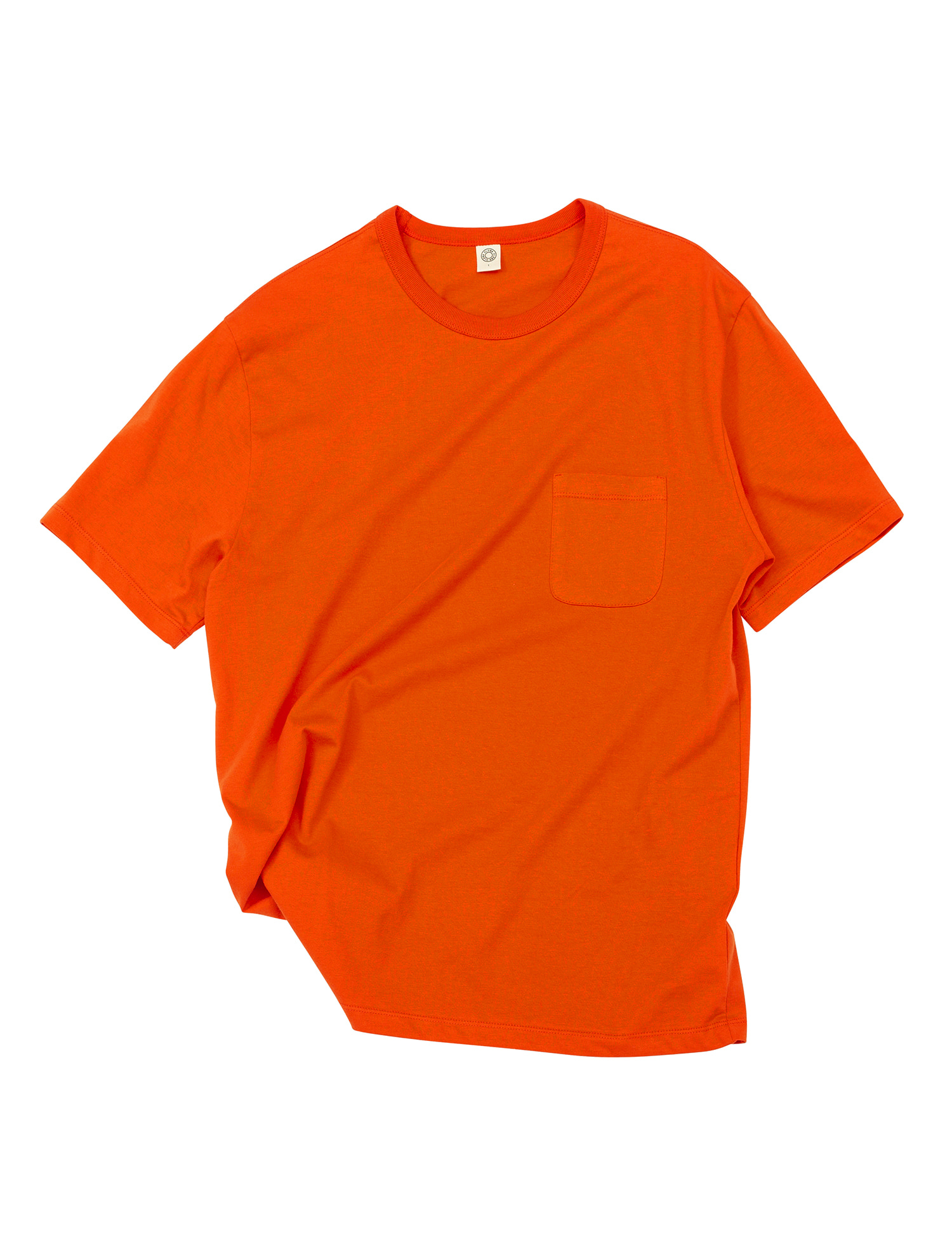 [올드비]  GEN COTTON CREW NECK T-SHIRT CORAL ROSE
